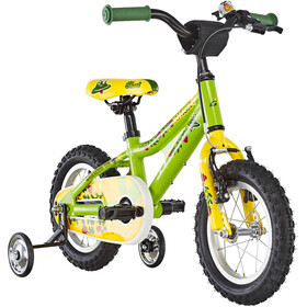 Ghost Powerkid AL 12 Børn, riot green/cane yellow/riot red